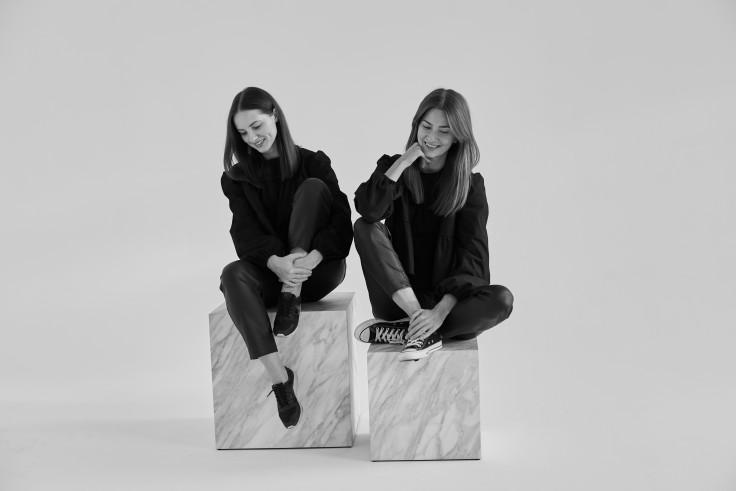 Justyna Bystrzycka i Laura Wojtasiak