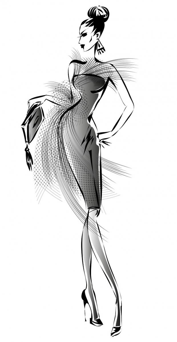 Ilustracja modowa