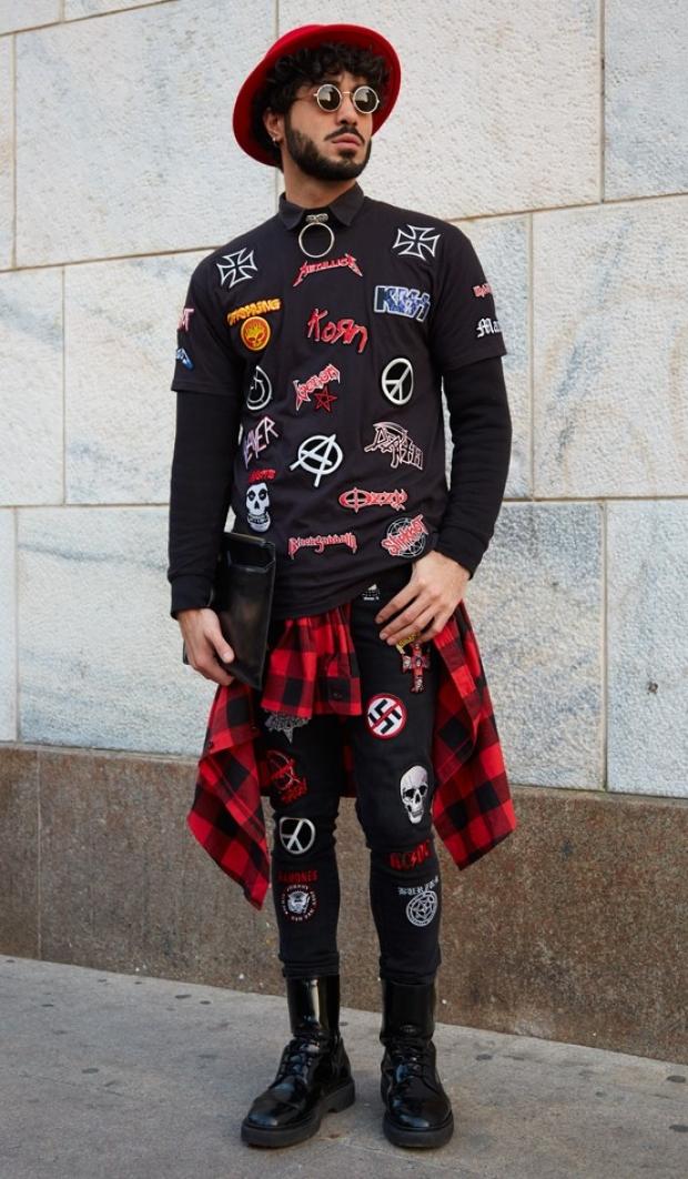 Punkowy styl